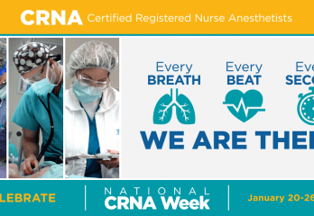 CRNAs absolutely make you first priority